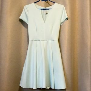 Guess Scuba Knit Fit & Flare Skater Dress Small